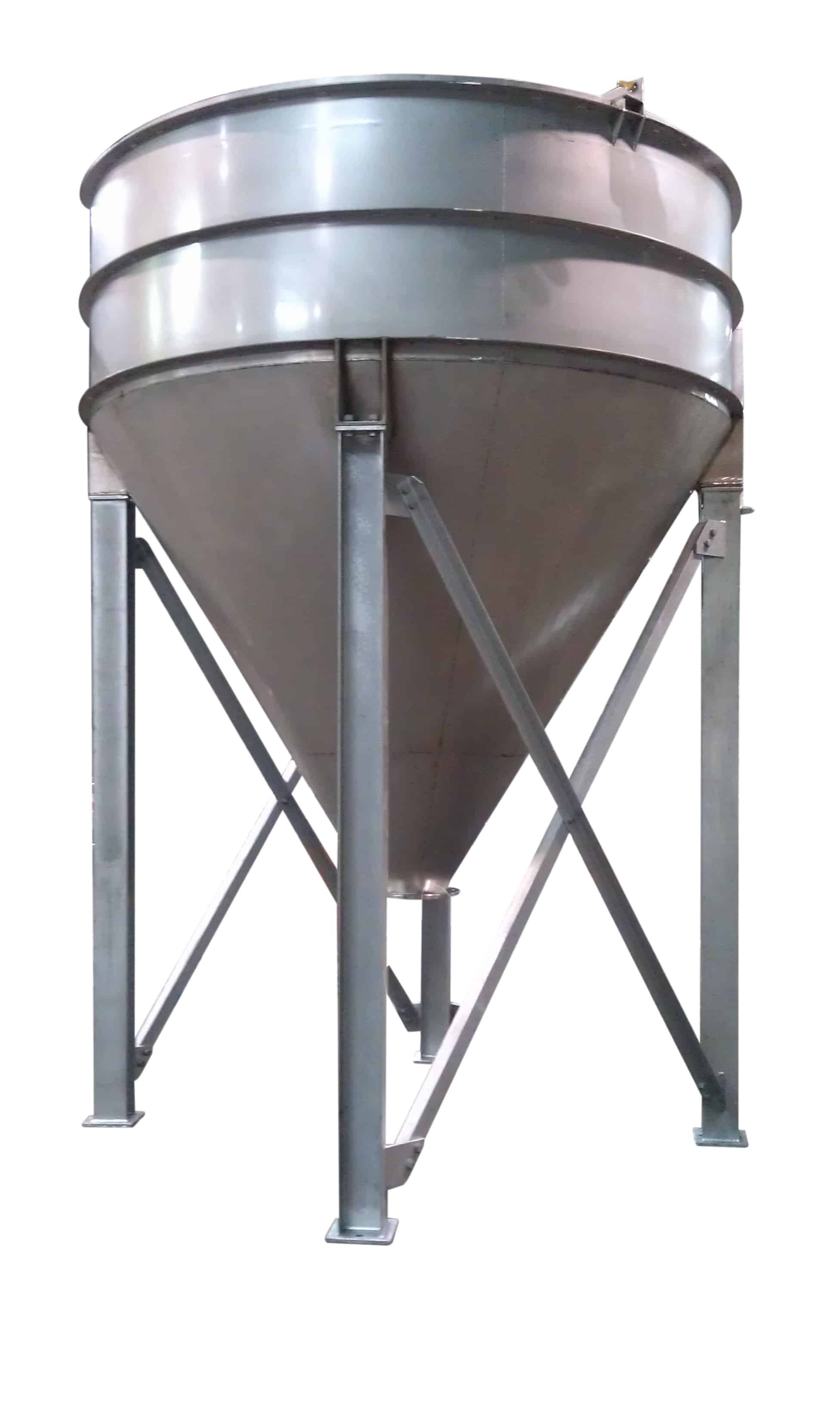 Conical base clarifier