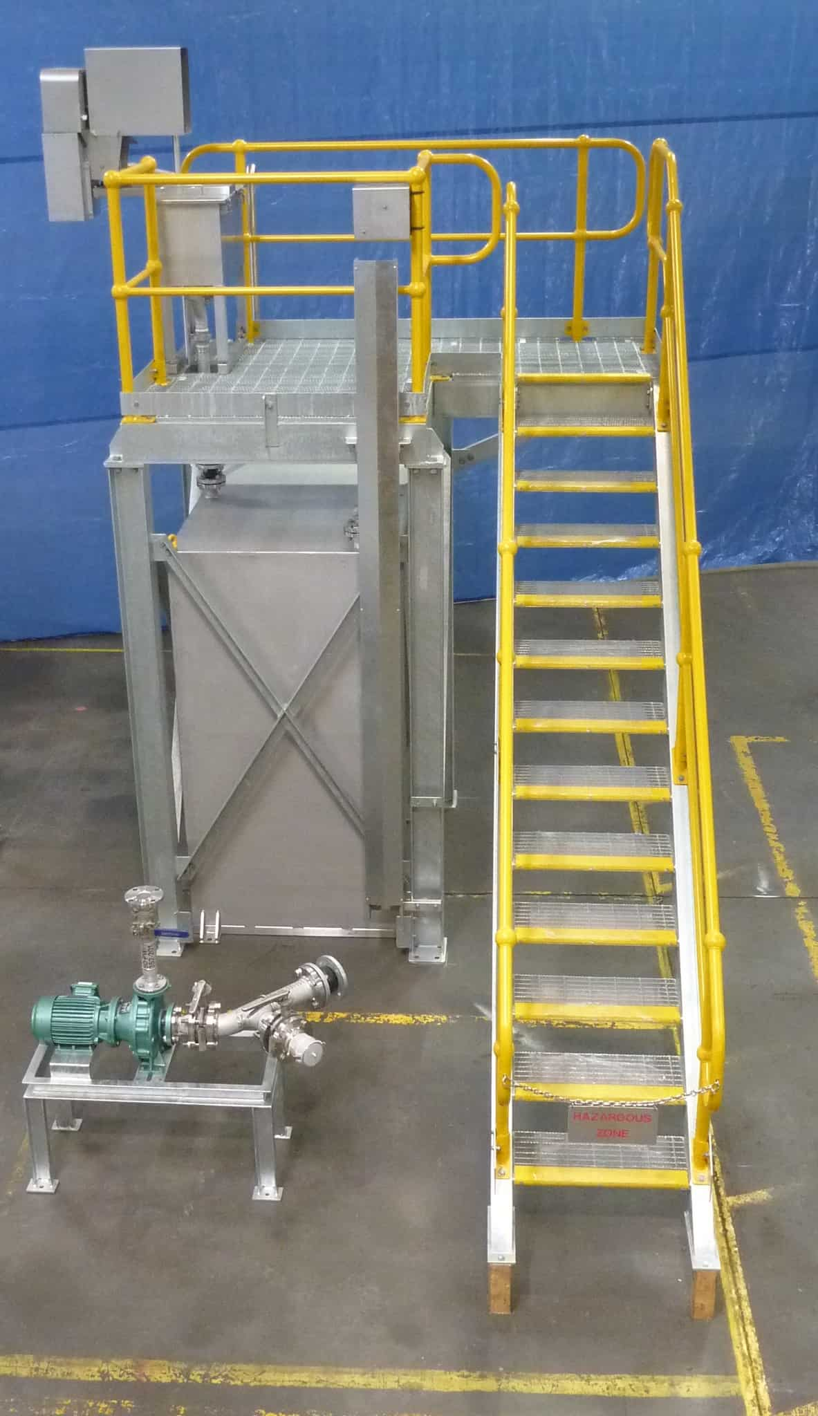 Custom fabricated equipment for wastewater treatment