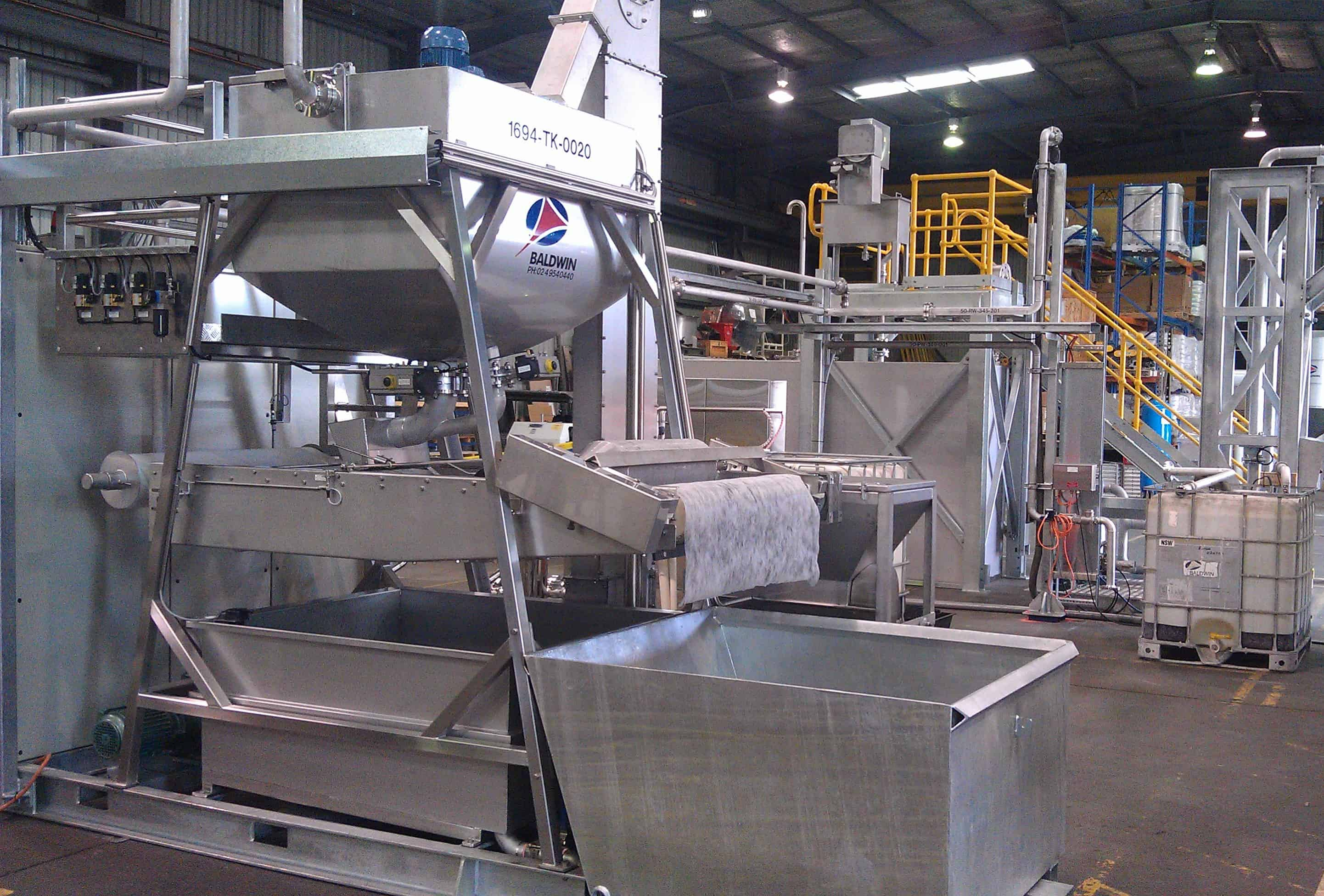 Custom fabricated systems for RM-10 chemical treatment