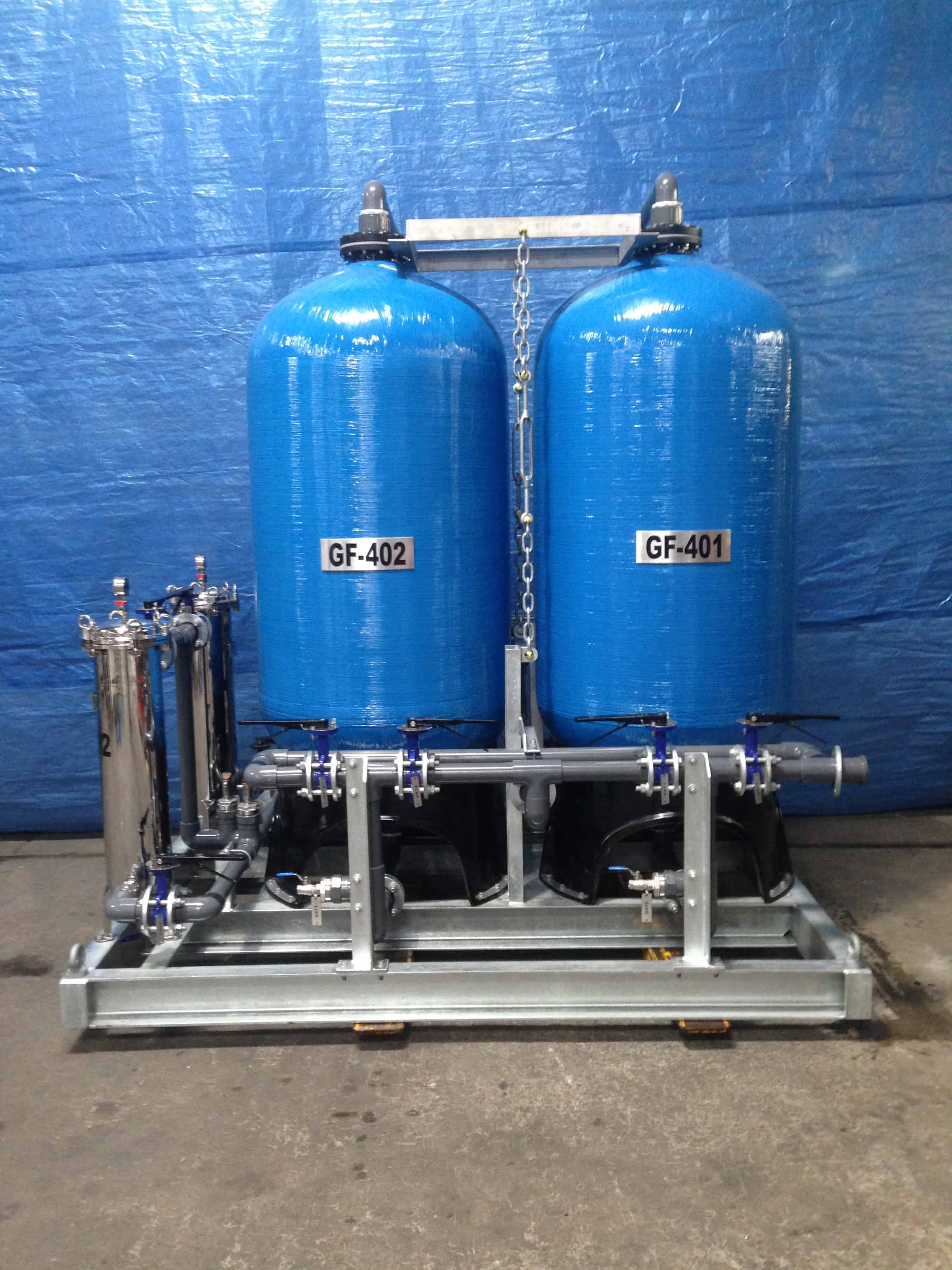 Wastewater filtration and polishing systems